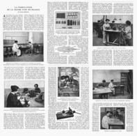 """LA FABRICATION  De La """" PLUME D'OR  """" En FRANCE ( Usine à NANTERRE ) 1924 - Autres Collections"""