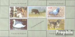 Kosovo Block1 (kompl.Ausg.) Postfrisch 2006 Tiere - Blocks & Kleinbögen