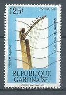 Gabon YT N°638 Harpe Mitsogho Oblitéré ° - Gabon