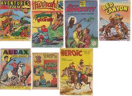 Lot 7 Magazines Western 1949-1957 - Magazines Et Périodiques