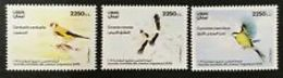 Lebanon NEW 2019 Complete Set 3v. MNH - Intnl Day Of Migrant Birds - Libanon