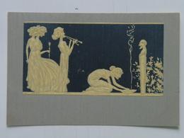 Raphael Kirchner 42 J-2 Ivoire Sculpte Sculptured Ivory 1903 - Kirchner, Raphael