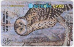 BULGARIA A-720 Magnetic Betkom - Painting, Animal, Bird, Owl - 49BULE - Used - Bulgaria
