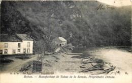 Belgique - Vresse-sur-Semois - Bohan - D.V.D. N° 11698 - Manufacture De Tabac De La Semois , Propriétaire Delaite - Vresse-sur-Semois