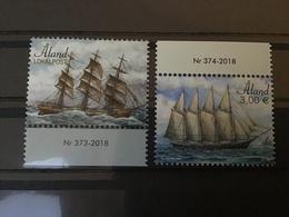 Aland - Complete Set Zeilschepen 2018 - Ålandinseln