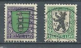Suisse YT N°218-219 Pro Juventute 1925 Armoiries De Saint-Gall Et Appenzell Oblitéré ° - Used Stamps