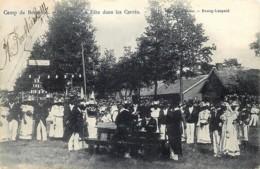 Belgique - Camp De Beverloo - La Fête Dans Les Carrés - Leopoldsburg (Beverloo Camp)