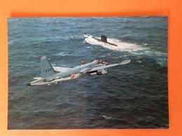 Marine Nationale Marine De Guerre Adieu Au Neptune à Lann Bihoué Avion De La Marine 28 Mai 1983 - Guerra