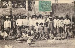 France - Nouvelle-Calédonie - Voh - Tribus De Tiéta - Petit Défaut En Haut - Nouvelle Calédonie