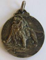 """AG01853  LION """"L'UNION FAIT LA FORCE"""" - 1914  (8g)  Blasons  Au Revers - Professionnels / De Société"""