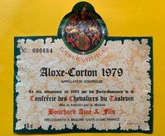 13896 - Aloxe-Corton 1979 Confrérie Des Chevaliers Du Tastevin Bouchard Ainé Et Fils - Bourgogne