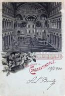 Turquie - 1900 - Type Gruss Aus - Souvenir De Constantinople - Magnifique Oblitération - Turkey