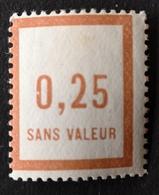 France Fictif N° F8 N** Luxe Gomme D'origine, TTB. Cote 2020 : 6 Euros. Voir Photos Recto Et Verso ! - Phantom