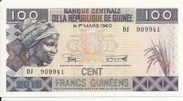 GUINEE 100 FRANCS 2015 UNC P A47 - Guinea