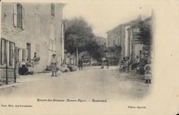 Revest-des-Brousses - Boulevard - Autres Communes