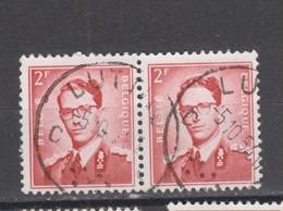 COB 925 En Paire Oblitération Centrale LUTTRE - 1953-1972 Glasses