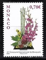 MONACO 2018 - Y.T. N° 3130 / CONCOURS INTERNATIONAL DE BOUQUETS 2018 - NEUF ** - Nuovi