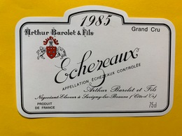 13909 - Echezeaux 1985 Arthur Barolet & Fils - Bourgogne