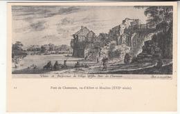 94 - Charenton - Pont Vu D'alfort Et Moulins (XVIIème Siècle) - Charenton Le Pont