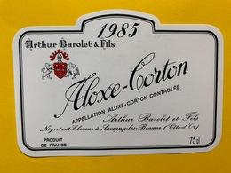 13911 -Aloxe-Corton 1985 Arthur Barolet & Fils - Bourgogne