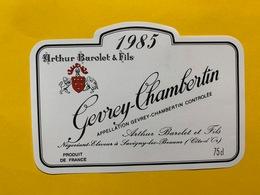 13912 - Gevrey-Chambertin 1985 Arthur Barolet & Fils - Bourgogne