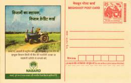 INDE - 2003 - Entier Postal Neuf - Tracteur - Postcards