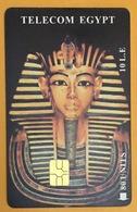 EGYPTE PHARAON TÉLÉCARTE 10 LE PHONECARD CARD - Egipto