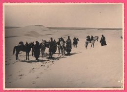Photo DEFLESSELLES - Père Blanc Missionnaire - Afrique -  Tunisie ZARSIS - Une Halte D'un Groupe De Spahis - Edit. KODAK - Afrika