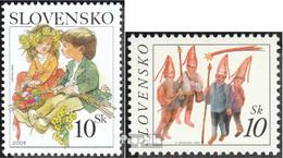 Slowakei 531,546 (kompl.Ausg.) Postfrisch 2006 Ostern, Weihnachten - Ungebraucht