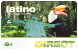 SPAIN B-653 Prepaid - Animal, Bird, Toucan - Used - Other