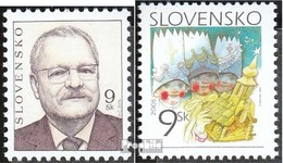 Slowakei 518,525 (kompl.Ausg.) Postfrisch 2005 Gasparovic, Weihnachten - Ungebraucht