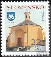 Slowakei 517 (kompl.Ausg.) Postfrisch 2005 Städte - Ungebraucht