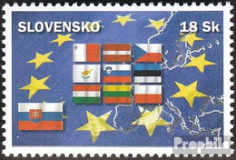 Slowakei 484 (kompl.Ausg.) Postfrisch 2004 Beitritt Zur EU - Ungebraucht