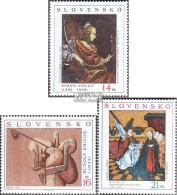 Slowakei 472-474 (kompl.Ausg.) Postfrisch 2003 Gemälde - Ungebraucht