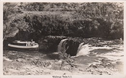 RP ; Steamer At Waitangi Falls , New ZEaland , 30-40s - Nouvelle-Zélande