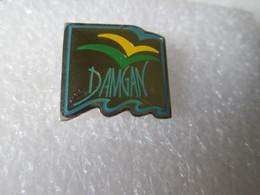 PIN'S   DAMGAN - Villes