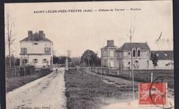 SAINT LEGER Près De Troyes - ( 10 - Aube ) Château De Cervert - Pavillon ( Animée , Personne ) - TB Etat - France
