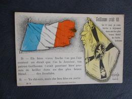 SATYRIQUE - SOLDAT FRANCAIS S'ADRESSANT A GUILLAUME II - Oorlog 1914-18