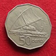 Fiji 50 Cents 1981 KM# 36 - Fiji