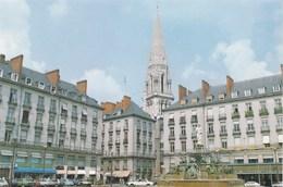 NANTES - LOIRE-ATLANTIQUE - (44)  -  CPSM ANIMÉE. - Nantes