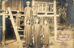 Tonkin - Cochinchine - Viet-Nâm - Carte-Photo Soc. Lumière - Famille Annamites - Vietnam