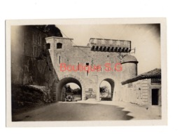 Photo Lieux Fort Pont Voiture Route Batiment Monument 9x6 Cm - Luoghi