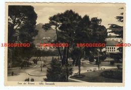 CAVA DEI TIRRENI - VILLA COMUNALE F/GRANDE VIAGGIATA 1942 ANIMATA - Cava De' Tirreni