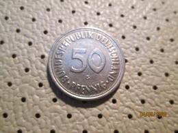 GERMANY 50 Pfenning 1950 G   # 2 - [ 7] 1949-… : RFA - Rep. Fed. Alemana