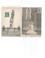 Aubers-2 Cartes-monuments Aux Morts - France