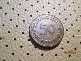 GERMANY 50 Pfenning 1950 F   # 2 - [ 7] 1949-… : RFA - Rep. Fed. Alemana
