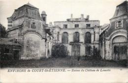 Environs De Court-Saint-Etienne - Ruines Du Château De Lamotte - Court-Saint-Etienne