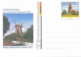 GERMANY Postkarte - Windmühle - Siehe Scan - Moulins