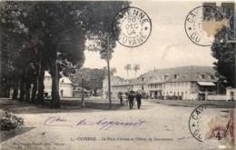France - Cayenne - La Place D' Armes Et L' Hôtel Du Gouverneur - Dans L' état - Cayenne