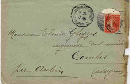Lettre Avec Enveloppe Pré-découpée - Guerre De 1914-18